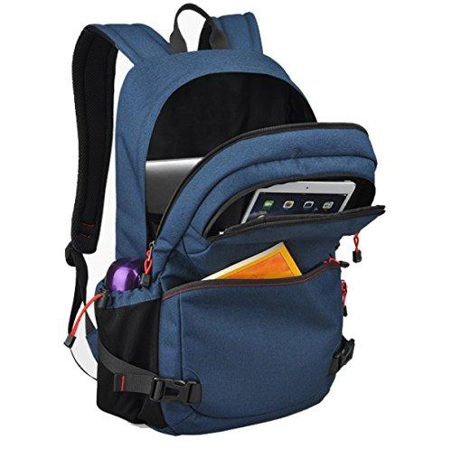 BULAGE Beutel Schultern Männer Wirtschaft Mode Arbeit Rucksäcke Taschen Freizeit Business Computer Reisen Blue