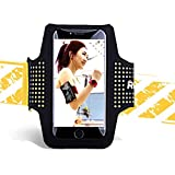 AWJ06 Universal iPhone 6/6S/7Plus/8/X S8/S9 Plus Outdoor Sport Armtasche Gym Armtasche Running Phone Holder Case Sleeve Bag -