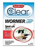 Bob Martin Spot on Traitement vermifuge pour chat et chaton
