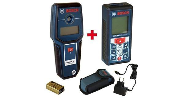 Bosch messtechnik set metalldetektor gms m professional