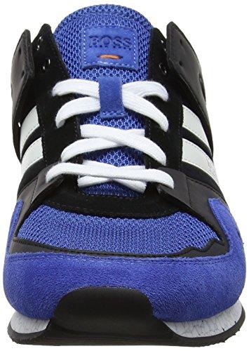 Boss Orange Adrenal_runn_mx 10197240 01, Sneakers Basses Homme Bleu (Open Blue 460)