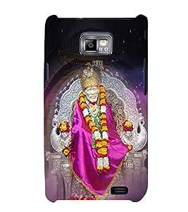 FIOBS Lord Sai Baba Statue Designer Back Case Cover for Samsung Galaxy S2 I9100 :: Samsung I9100 Galaxy S Ii