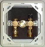 COSMO Einzelraum-Regelbox TH f.Raumregler extern m.Abdeckplatte weiss