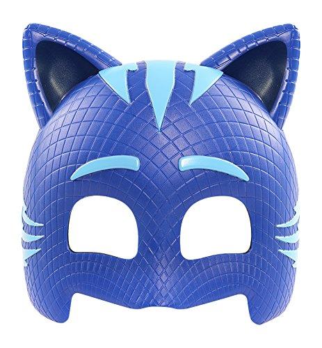 PJ Masks - Máscara Gatuno infantil, color azul (Bandai 24591)