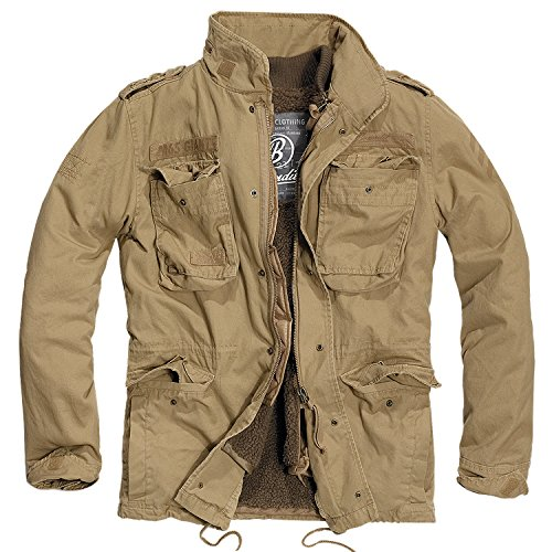Brandit M65 Giant Giacca Invernale, Camel L