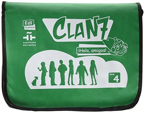 Clan 7 con Hola Amigos: Complete Tutor Pack Level 4: Mochilla de Professor
