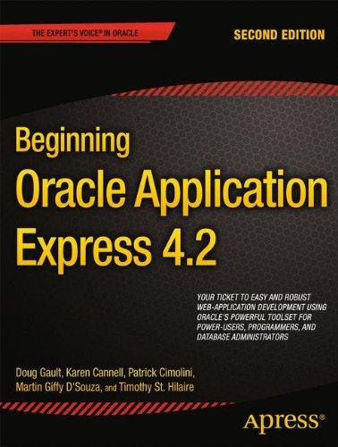Beginning Oracle Application Express 4.2 (Beginning Apress)