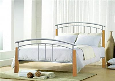 4ft6 Double Metal Bed Jose Metal Bed produced by Bedzonline LTD - quick delivery from UK.