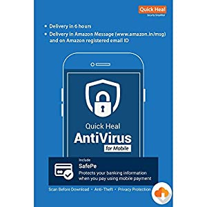 Quick Heal Mobile Antivirus – 1 Device, 1 Year (Email Delivery in 2 hours – No CD)