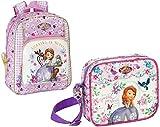 Principessa Disney Sofia la Principessa - Zaino per Bambini e Tracolla, Rosa/Lilla