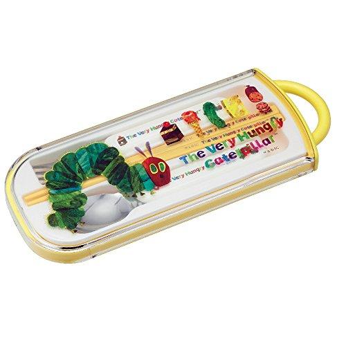the-very-hungry-caterpillar-portatil-cubiertos-cuchara-y-tenedor-y-palillos-importacion-de-japon