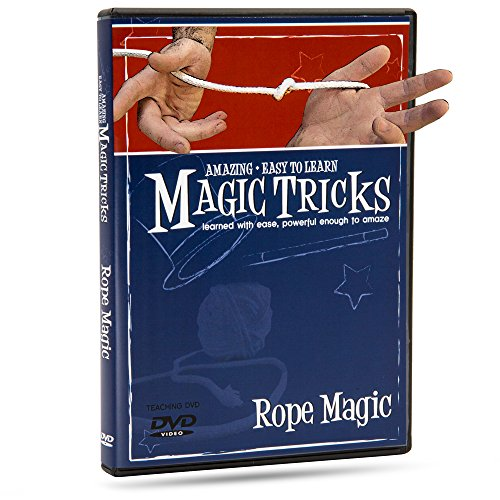 incroyable facile pour apprendre la magie Tours de DVD : Magie De La Corde