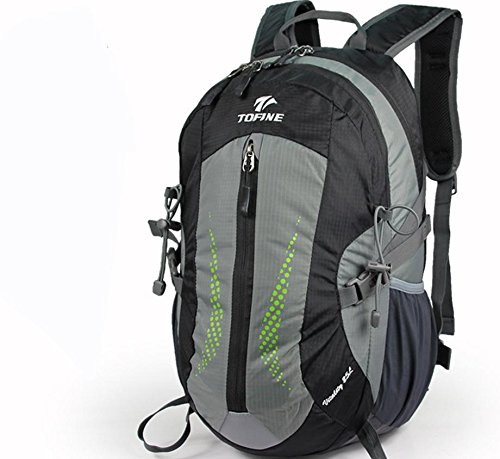 Neue Outdoor-Rucksack wandern Tasche 25L Männer und Frauen lässig Rucksack mittlerer Outdoor-Taschen Black