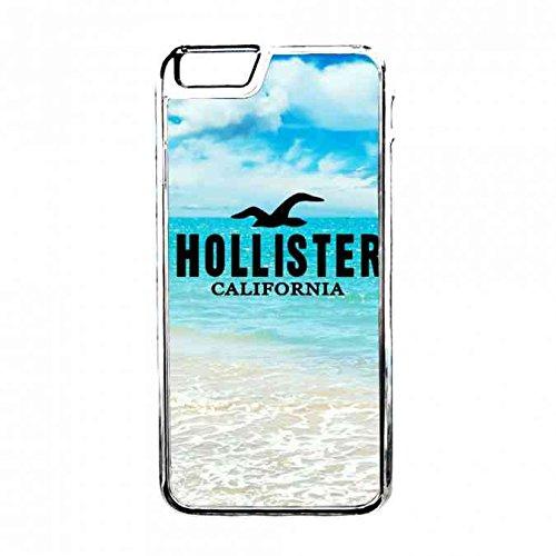 Protector Hollister California Carcasa,Hollister Clear Iphone 6S Carcasa,Tpu Silicona Hollister Carcasa Funda,Transparente Apple Iphone 6S Hollister Logo Carcasa