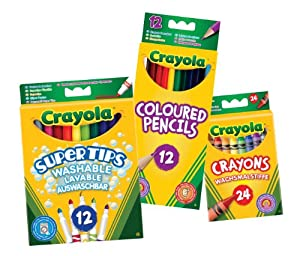 Crayola - Lápices de Colores (Vivid Imaginations 20260)