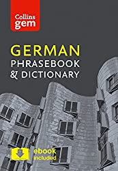 Collins German Phrasebook and Dictionary Gem Edition: Essential phrases and words in a mini, travel-sized format (Collins Gem)