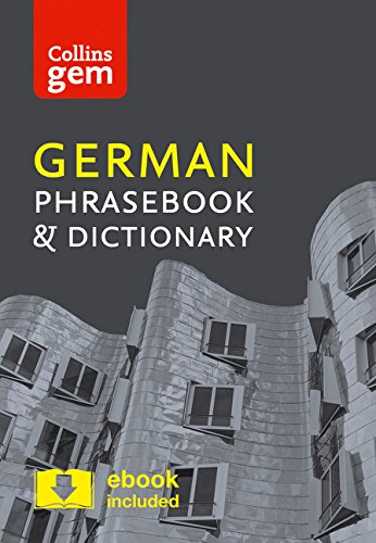 German Phrasebook And Dictionary (Collins Gem) [Idioma Inglés]