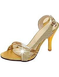 VulusValas Mujer Punta Aiberta Sandalias Zapatos  Zapatos de moda en línea Obtenga el mejor descuento de venta caliente-Descuento más grande
