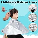 Hairdressing Lätzchen Hairdressing Cape Bart Lätzchen Umhang Schals und Haarschnitte Nonstick Hair für Kinder und Erwachsene