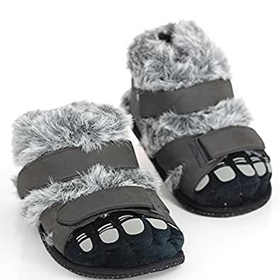 Sleeper'z – Pieds Poilus - Chaussons animaux peluche - Homme - L