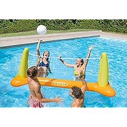 Accesorio de piscina. Juego hinchable Vóley flotante 239 x 64 x 91 cm