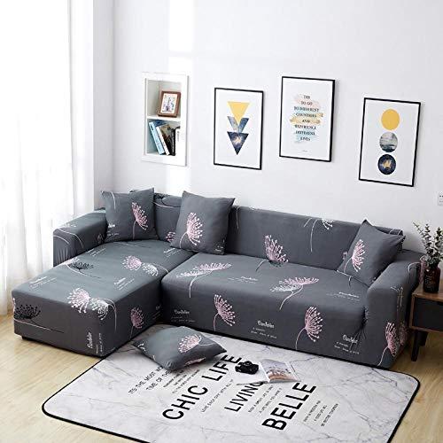 Djhyt fodera per divano, copridita per divano ad angolo in tessuto elastico elegante poliestere