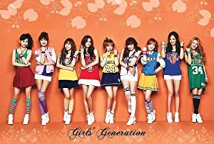 "J-4519 Snsd Girl Generation Korea Girl Group Pop Dance Music Wall Decoration Poster Size 35""x23.5"""