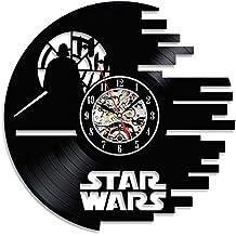 Vintage Regalo Star Wars reloj de pared de vinilo de regalo de Navidad