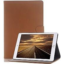 iPad Air 2 Funda - elecfan iPad Air 2 smart case cover Mochila Negocio Giratoria 360 Grados Carcasa con para Apple iPad Air 2Protector de Pantalla