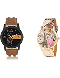 Krupa Enterprise Analogue Round Multi Color Dial Girls & Women's Watch_2210