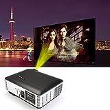 Flylinktech® HD LED proyector de cine en casa 1280x800 resolución 2800 Lúmenes con HDMI / USB / AV / VGA / Componente 1500: 1 Videojuegos Presentaciones Gaming negocio