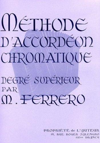 Méthode d'accordéon chromatique degré supérieur - Accordéon