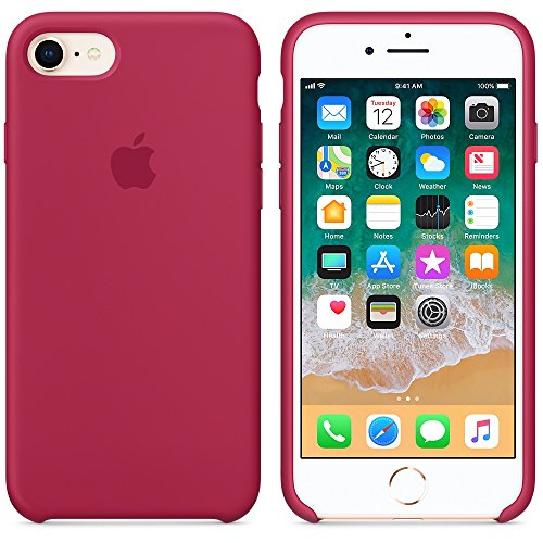 Funda iPhone 7/8 Carcasa Silicona Suave Colores Caramelo