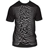 Joy Division Unknown Pleasures Big Print Subway T-Shirt, Size: Medium