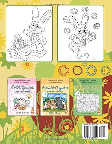 Libro Buona Pasqua Libro Da Colorare 20 Disegni Volume 12 Di