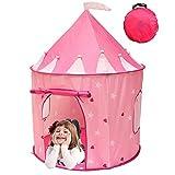 Girl's Beautiful Pink Princess Castle, B...