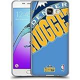 Officiel NBA Icône Surdimensionnée Denver Nuggets Étui Coque en Gel molle pour Samsung Galaxy A5 (2016)
