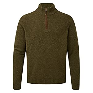 Sherpa Herren KANTEGA Quarter Zip Sweat Jumper