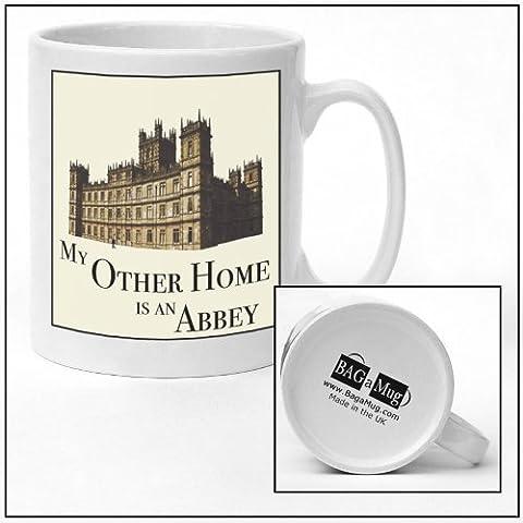 Mes autres HOME est un ABBEY Tasse en céramique Motif DOWNTON ABBEY nouveau un cadeau idéal pour toutes les occasions