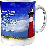 metALUm Kaffeetasse Leuchtturm Christlich # 3300100164