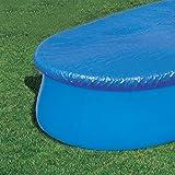 Bestway Abdeckplane Oval für Fast Set Pool 549x366cm