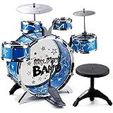 fb5f8087de1df LIUFS-Tambor Tambores Para Niños Principiantes Del Bebé Educación Temprana  Música Juguete Instrumentos Musicales Una