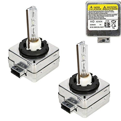 Lampade D1S/C, OSAN Coppia D1S D1C 35W 6000K Xenon HID Lampadine Lampade di Ricambio