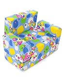 BabyGo Kids Sofa Cum Bed 2-in-1 Flip Ope...