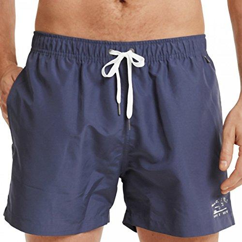 Marc O\'Polo Body & Beach Herren Badeshorts Beach Swimshorts Blau (Jeansblau 816) XX-Large (XXL)