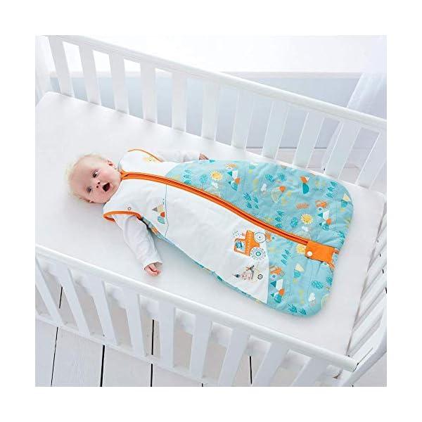 Gro Premium – Saco de dormir, 18-36 m, diseño granja, tog 2.5