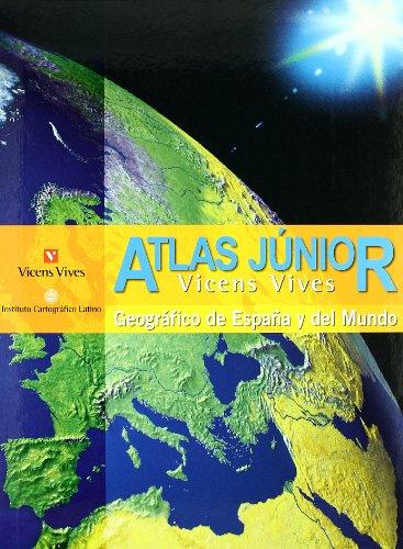 Atlas Júnior Geográfico De España Y Del Mundo - 9788431673321 por S.A. Vicens Vives Primaria