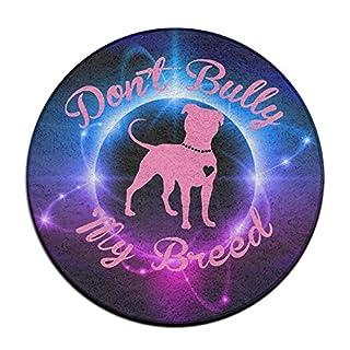 ANN WAPZSO Don't Bully My Breed Pitbull Doormat Entrance Mat Floor Mat Rug Indoor/Outdoor/Front Door Mats Non Slip