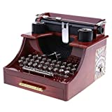 Best Typewriters - ELECTROPRIME Old-Fashioned Mechanical Typewriter Music Box Toy Table Review