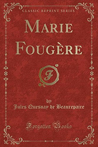 marie-fougere-classic-reprint